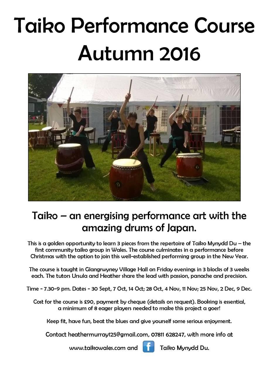 taiko poster Sept 2016