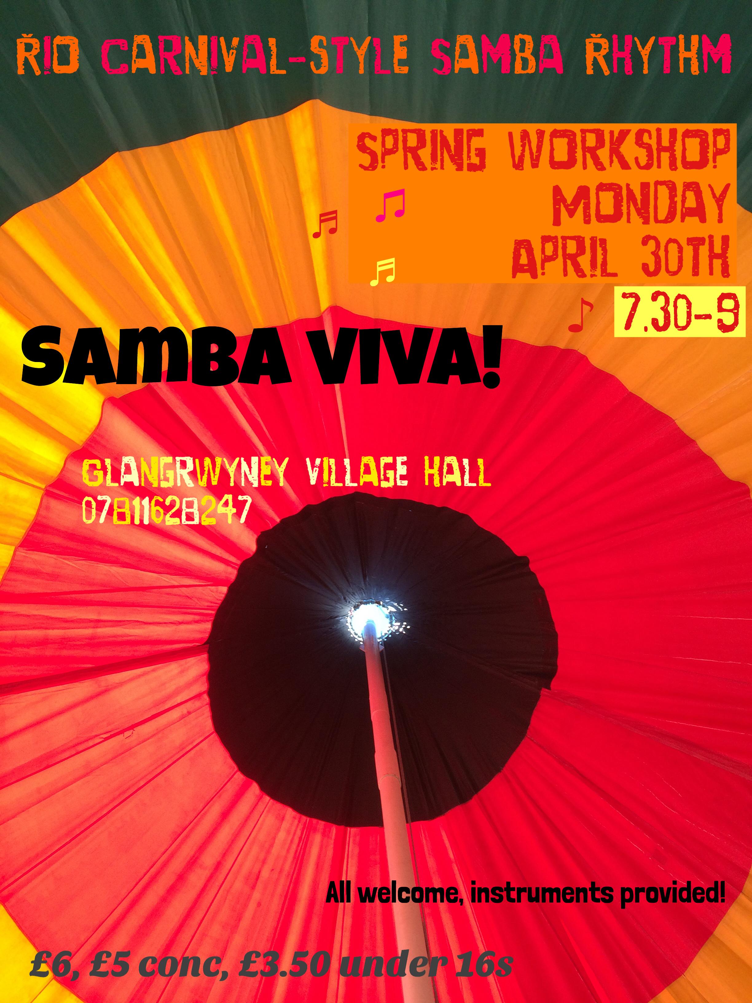 SV poster Spring 2018