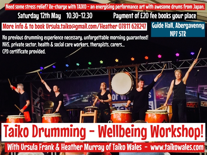 Taiko Wellbeing Poster May 2018