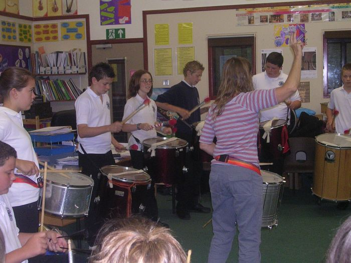 Samba Drumming for Schools and Groups – Music and the Muse